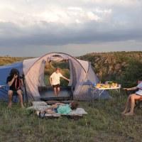 Наш первый поход с палаткой